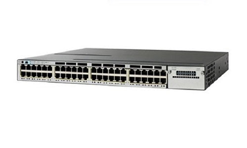 WS-C3850-48P-E - Cisco Catalyst 3850 Network Switch - New
