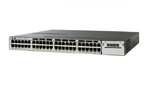WS-C3850-48UW-S - Cisco Catalyst 3850 Network Switch Bundle - New