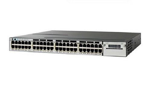 WS-C3850-48UW-S - Cisco Catalyst 3850 Network Switch Bundle - Refurb'd