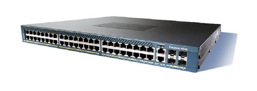 WS-C4948-10GE-E - Cisco Catalyst 4948 Network Switch - New