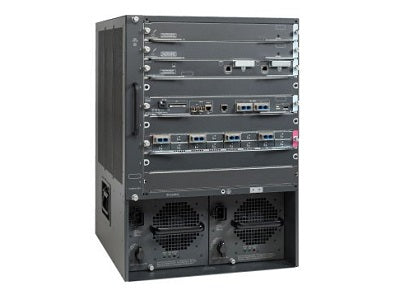 WS-C6509-V-E - Cisco Catalyst 6509 Network Switch Chassis - Refurb'd