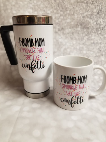 F bomb mom mug - My Other Child