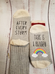 After every storm, there is a rainbow, Lucky Socks, Rainbow Baby - My Other Child