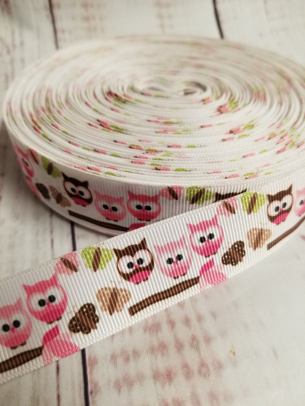Cute owls, Grosgrain ribbon, hair bows,  crafting - My Other Child