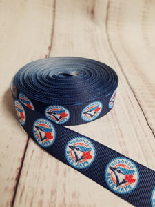Toronto blue Jay's, grosgrain ribbon, baseball, MLB,  crafting - My Other Child