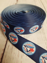 Load image into Gallery viewer, Toronto blue Jay's, grosgrain ribbon, baseball, MLB,  crafting - My Other Child