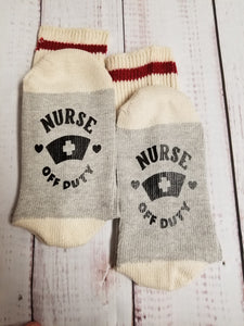 Nurse off duty, Nurse socks - My Other Child