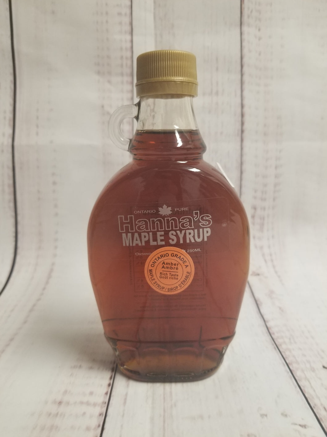 Hanna's 250 ml maple syrup - My Other Child