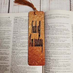 Bookmark - F&$% off I'm reading - My Other Child