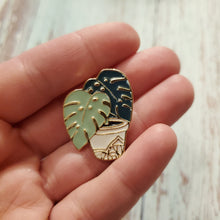 Load image into Gallery viewer, Enamel Pin - Monstera Plant