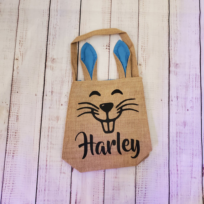 Customized Easter Bags with Bunny ears