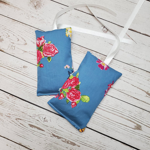 Lavender Pouch air freshener | Blue Floral