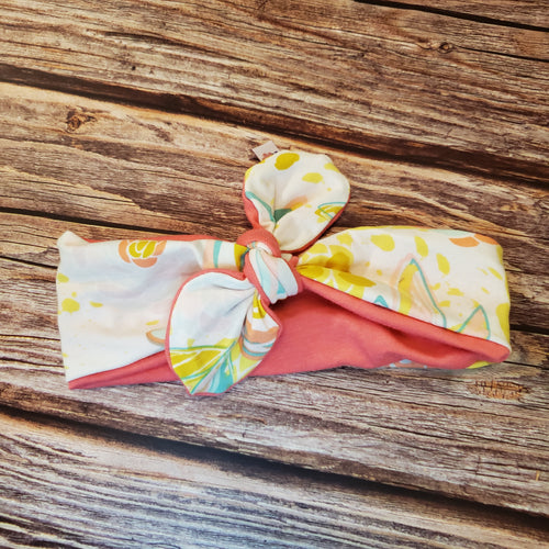 Toddler headbands | Knotted | Reversible