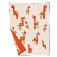 Load image into Gallery viewer, Knit Baby Blanket | Giraffe