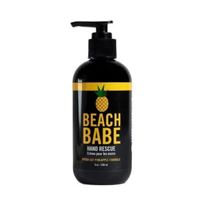Beach Babe Hand Lotion pump bottle 8 oz
