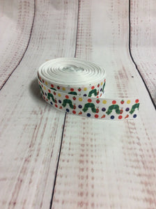 Very hungry caterpillar grosgrain ribbon - My Other Child