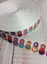 Load image into Gallery viewer, Matryoshka dolls, nesting dolls, grosgrain ribbon - My Other Child