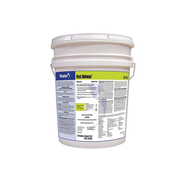 Foster 40-40 First Defense Disinfectant - 5 gallon