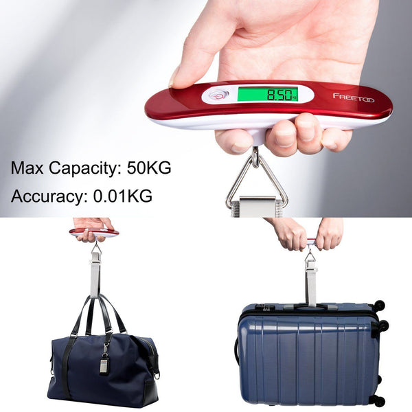 Digital Portable Travel Luggage Suitcase Weighing Scale With Tare Function 110 lb/ 50KG Capacity