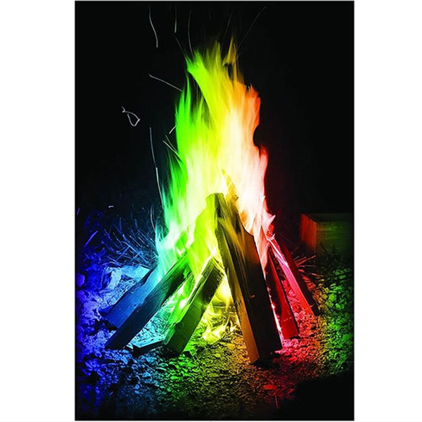 Professional Magicians Pyrotechnics Mystical Coloured Flames Bonfire Fire Magic Tricks Color Toy