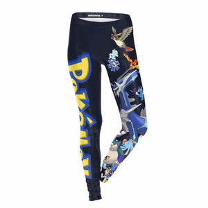 Women Anime Sexy   Elf Halloween Club Party Ankle Length Leggings Pants