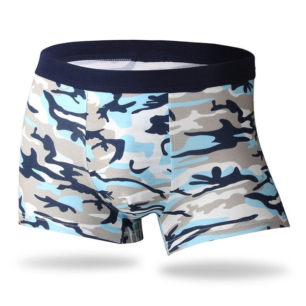 Men's Bamboo Fiber Fashionable Sexy Breathable Middle-Waisted Soft Underwear Undershorts Underpants Boxers Panties Boxer Shorts