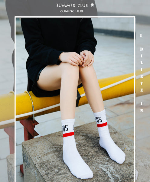 Women's Cute Korean Style Harajuku Trendy Funny Socks Various Colors Available
