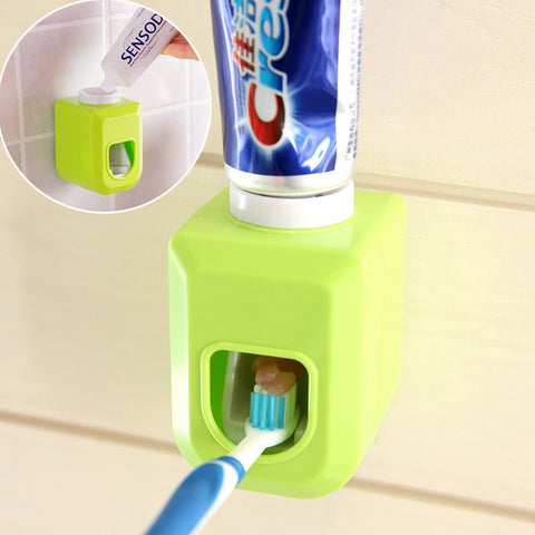 Creative Automatic Toothbrush Holder Tooth Paste Dispenser