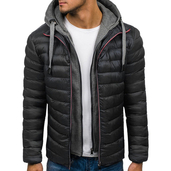 Men's Casual Thick WinterJacket Brand Jackets And Coats Outwear 4XL