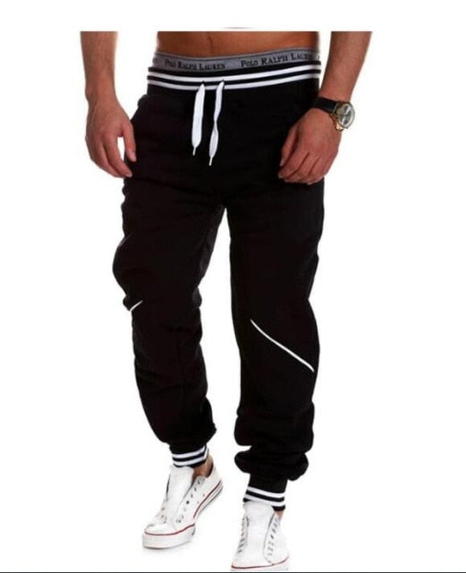 Men's High Quality Casual Spring Elastic Long Camo Joggers