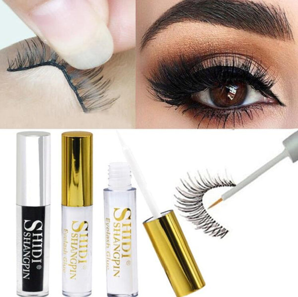 Makeup Beauty Eyelash Eye Lashes Adhesive Glue for Fake Eyelashes, 1-piece 5ML
