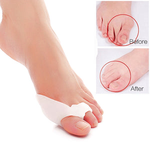 Bone Thumb Orthotics Silicone Bunion Corrector Toe Separators