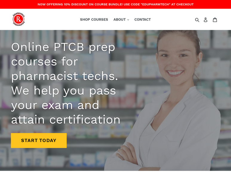 PTCB-Recognized Training Program
