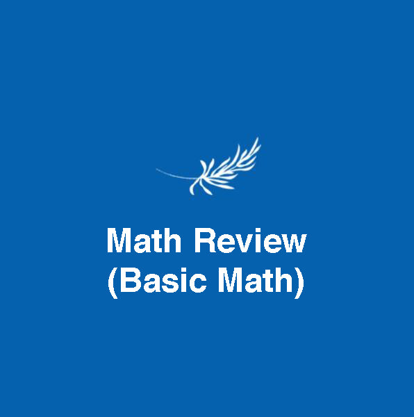 Math Review (Basic Math) - Edupharmtech