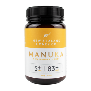New Zealand Honey Co. UMF 5+ Raw Manuka Honey