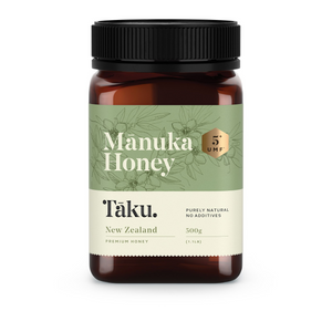 Taku. UMF 5+ Manuka Honey