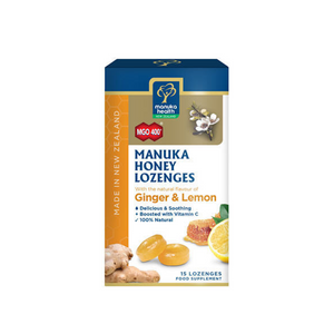 Manuka Health MGO 400+ Manuka Honey Lozenges