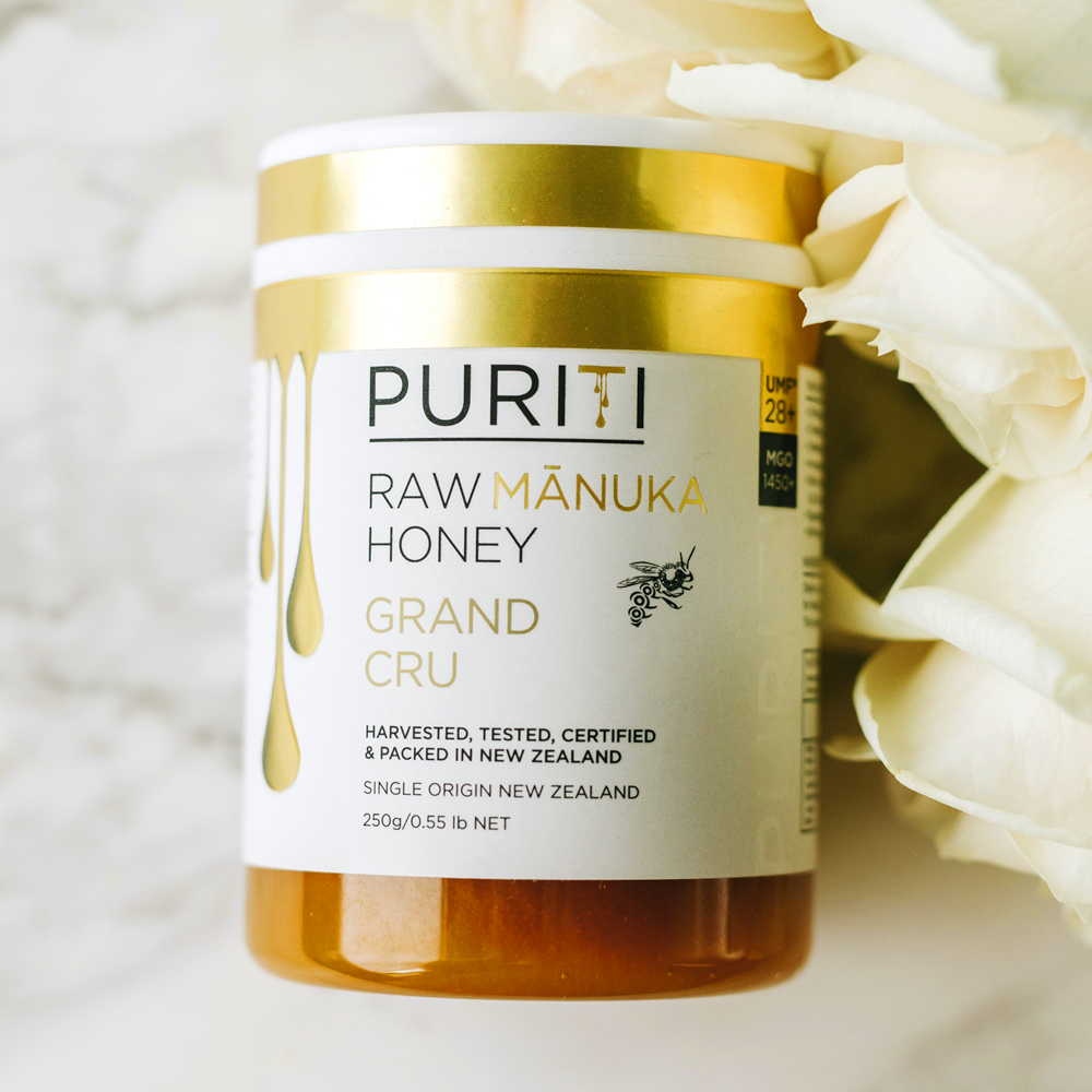 PURITI UMF 28+ Premium Pure Raw Manuka Honey