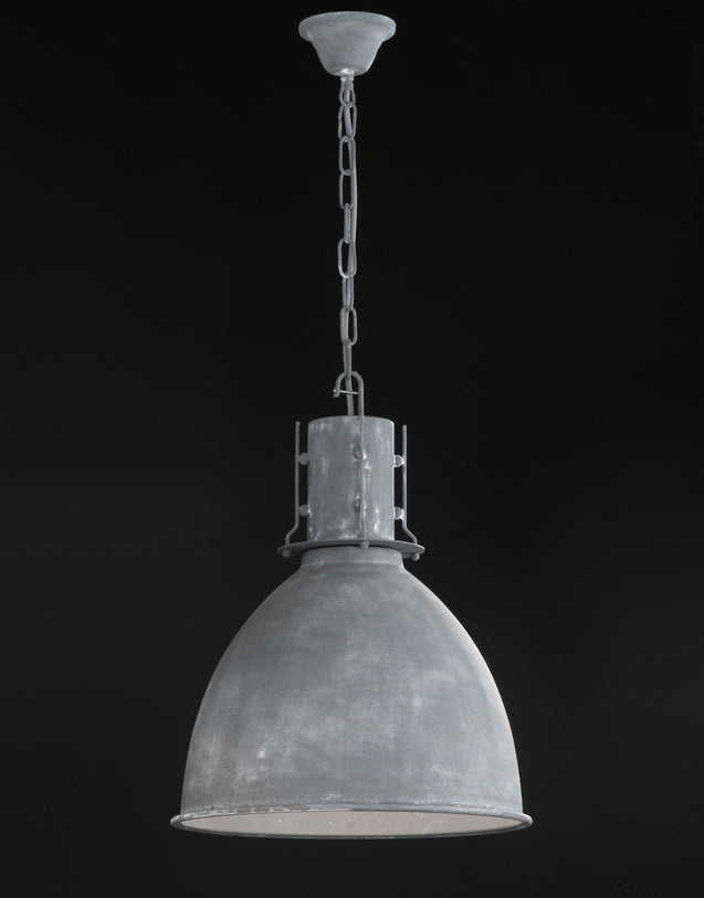 Navigare Montana Pendant Light 1 Light Source Concrete