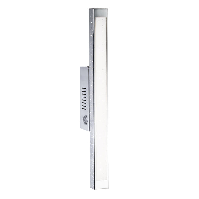 Wofi Levi Chrome LED Wall Light