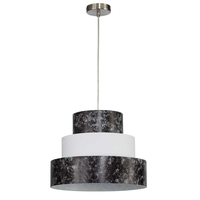 Lighting Style Buxton Pendant Light Black & White