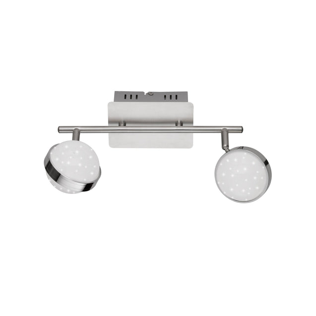 Wofi Monde Double LED Ceiling Light