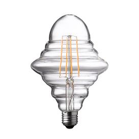 Wofi LED Lamp Bulb transparent E27 4W 300 Lumen 1800 Kelvin 9760