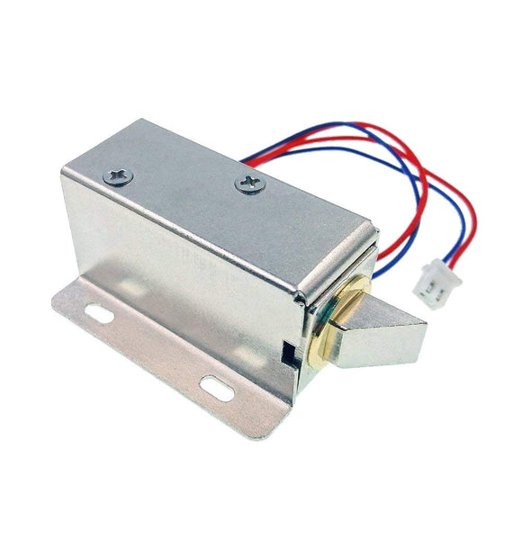 DC 12V Electric Solenoid Lock Assembly Security Lock for Security System safes Door Cabinet