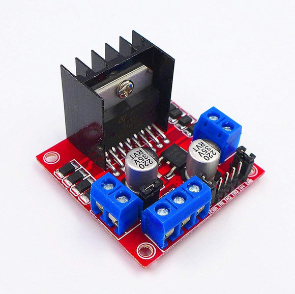 JZK Stepper Motor L298N DC Stepping Motor Driver for Arduino Dual Channel H-bridge Micro Control Board Motors Driver Module Robot Smart car