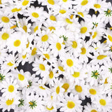 100 x Artificial White Craft Daisy Fabric Flowers Heads Party Wedding Table scatters Decoration