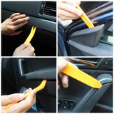 12 pcs Plastic Auto Upholstery Trim Remover Tools Set Car Panel Trim Removal Tool Kit