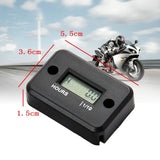 Waterproof LCD Display Digital Hour Meter Gauge Timer for Quad Bike Motorcycle Snowmobile motocross