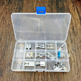 11 Pieces Sewing Machine Domestic Accessories Set replace for Singer Brother Janome Toyota Elna AEG