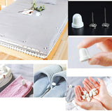 16 x Magnetic duvet quilt comforter clips + 1 x magnetic detacher, to keep duvet in place